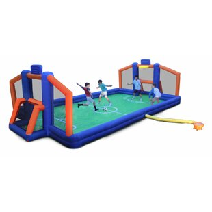 Sportspower 2 in 1 Ultimate Sports Arena Bounce House