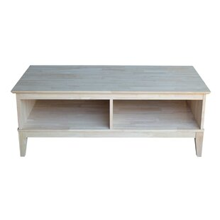 Interior County Coffee Table with Divider
