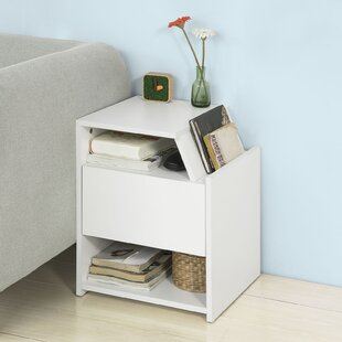 Carpentier Bedside Table By 17 Stories