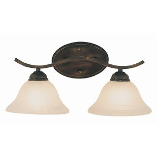 Great choice 2-Light Vanity Light By TransGlobe Lighting
