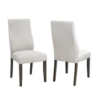 Olmeda Upholstered Dining Chair (Set of 2) by Charlton Home