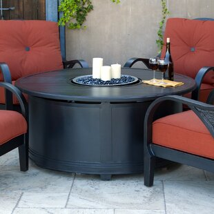 Royal Garden Indigo Aluminum Gas Fire Pit Table