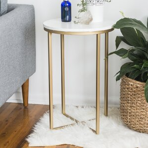 Andromeda Round End Table by E..