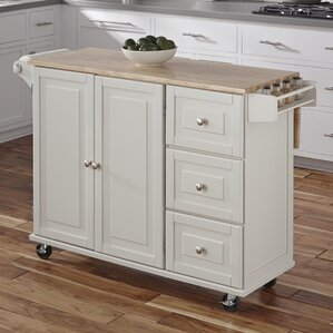 Kuhnhenn Kitchen Island by Andover Mills