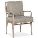 Amani Upholstered Dining Chair in Light Wood (Set of 2) by Hooker Furniture