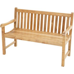 Elderfield Teak Bench By Sol 72 Outdoor