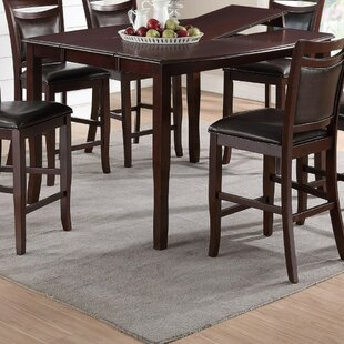 Ruble Anticardium Counter Height Dining Table by Charlton Home Best