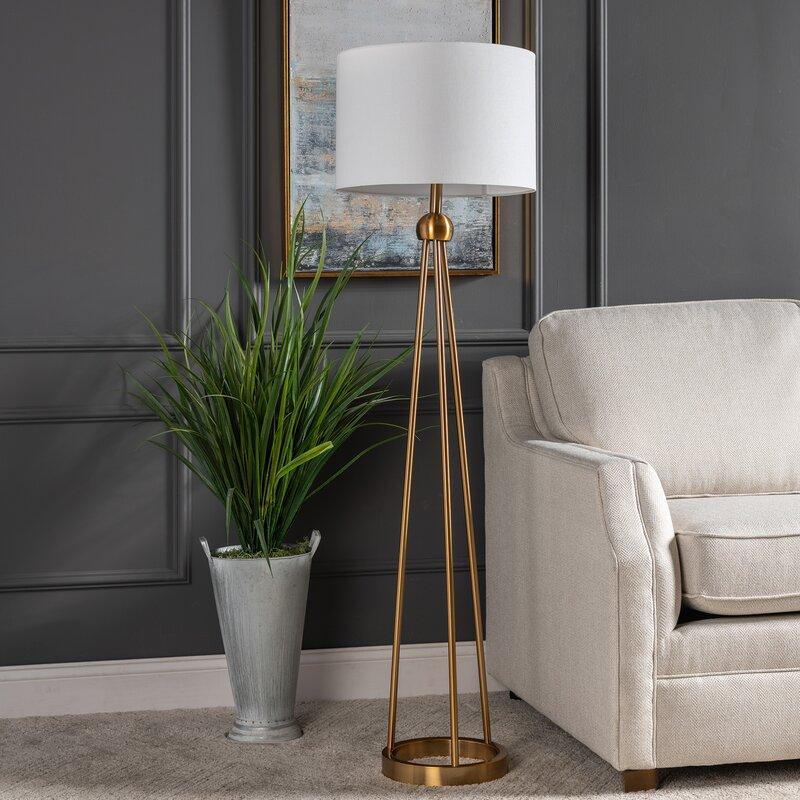Mercer41 Dilley 60 Floor Lamp Reviews Wayfair Ca
