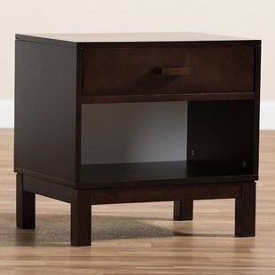 Jamil 1 Drawer Nightstand by Ivy Bronx