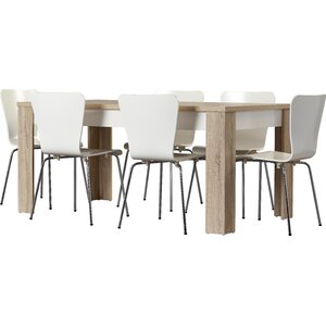 algedi 7 piece dining set - Modern Contemporary Dining Table