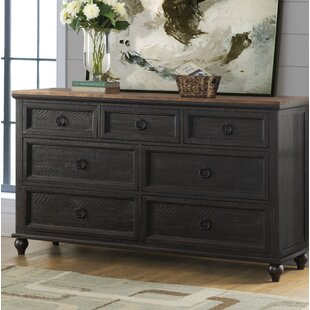 Meryl 7 Drawer Double Dresser by Canora Grey