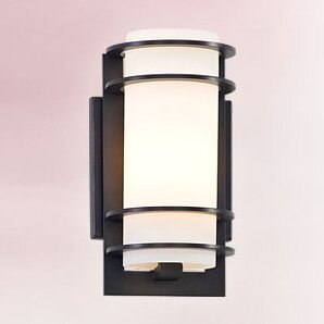 Great Price Dunnigan 1-Light Outdoor Sconce By Darby Home Co
