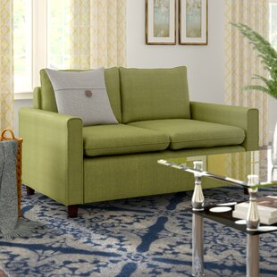 Shop Schaller Modern Loveseat by Winston Porter