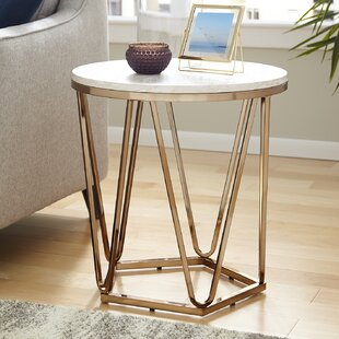 Quartz End Table