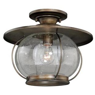 Karole 1-Light Semi Flush Mount by Williston Forge
