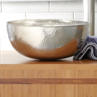 Native Trails, Inc. Maestro Metal Circular Vessel Bathroom Sink