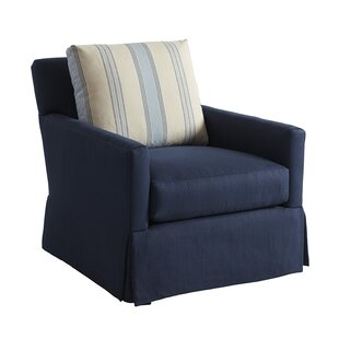 Harlow Swivel Armchair by Barclay Butera