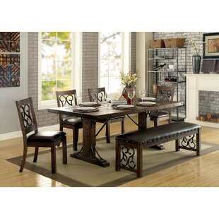 Knaresborough 6 Piece Breakfast Nook Dining Set by Fleur De Lis Living