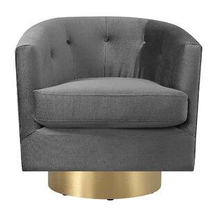 Huang Swivel Barrel Chair