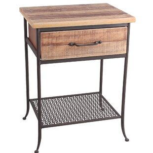 Mccullers End Table with Storage by Gracie Oaks