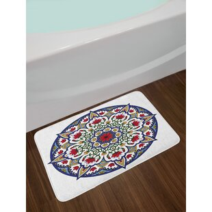 Asian Moroccan Bath Rug
