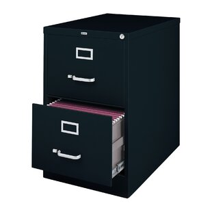 Latitude Run Scalise 2 Drawer Commercial Letter Size File Cabinet