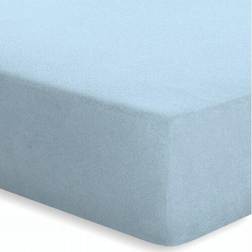 Spannbettlaken Frottee-Stretch | Heimtextilien > Bettwäsche und Laken > Bettlaken | Aqua | Baumwolle - Polyester | schlafgut
