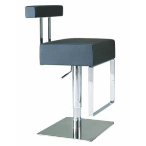 Adjustable Height Swivel Bar Stool by ..