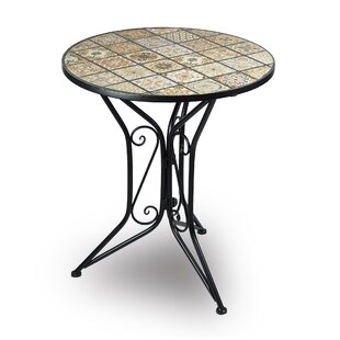 Morro Iron Dining Table By World Menagerie