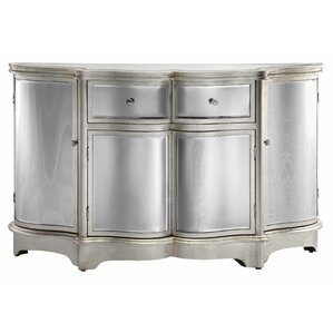 Curved Mirror Sideboard by Stein World