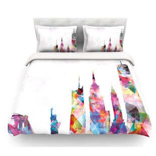 New York by Mareike Boehmer City Featherweight Duvet Cover