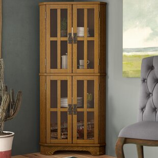 Chaya Corner Curio Cabinet by Loon Peak