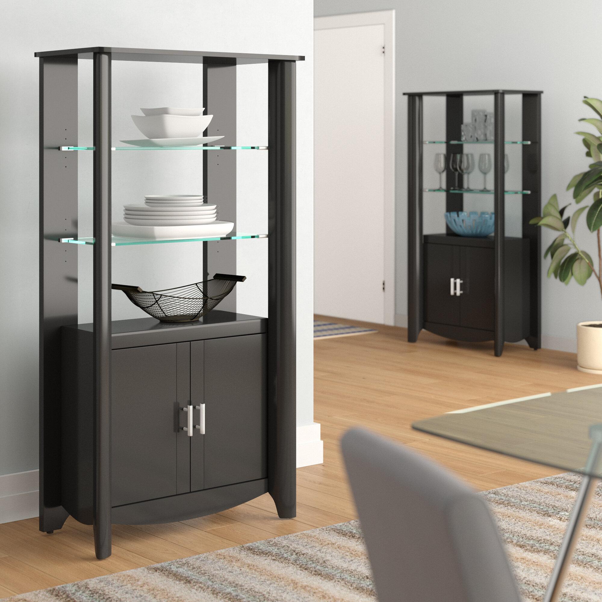 Bon Wentworth Library Storage 2 Door Accent Cabinet