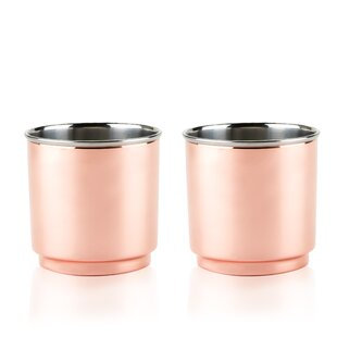Summit Double Walled Stainless Steel Tumblers (Set of 2)