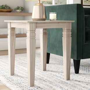 Lynn Pillar End Table by Mistana