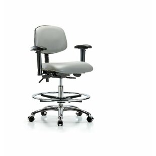 Aliya Drafting Chair by Symple Stuff 2019 Sale