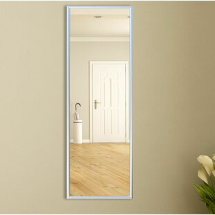 Darby Home Co Polished Silver Floor Mirror