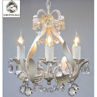 Crystal ball chandelier wayfair tobias 4 light crystal balls chandelier aloadofball Image collections