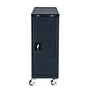 12-Compartment Tablet Charging Cart by Luxor
