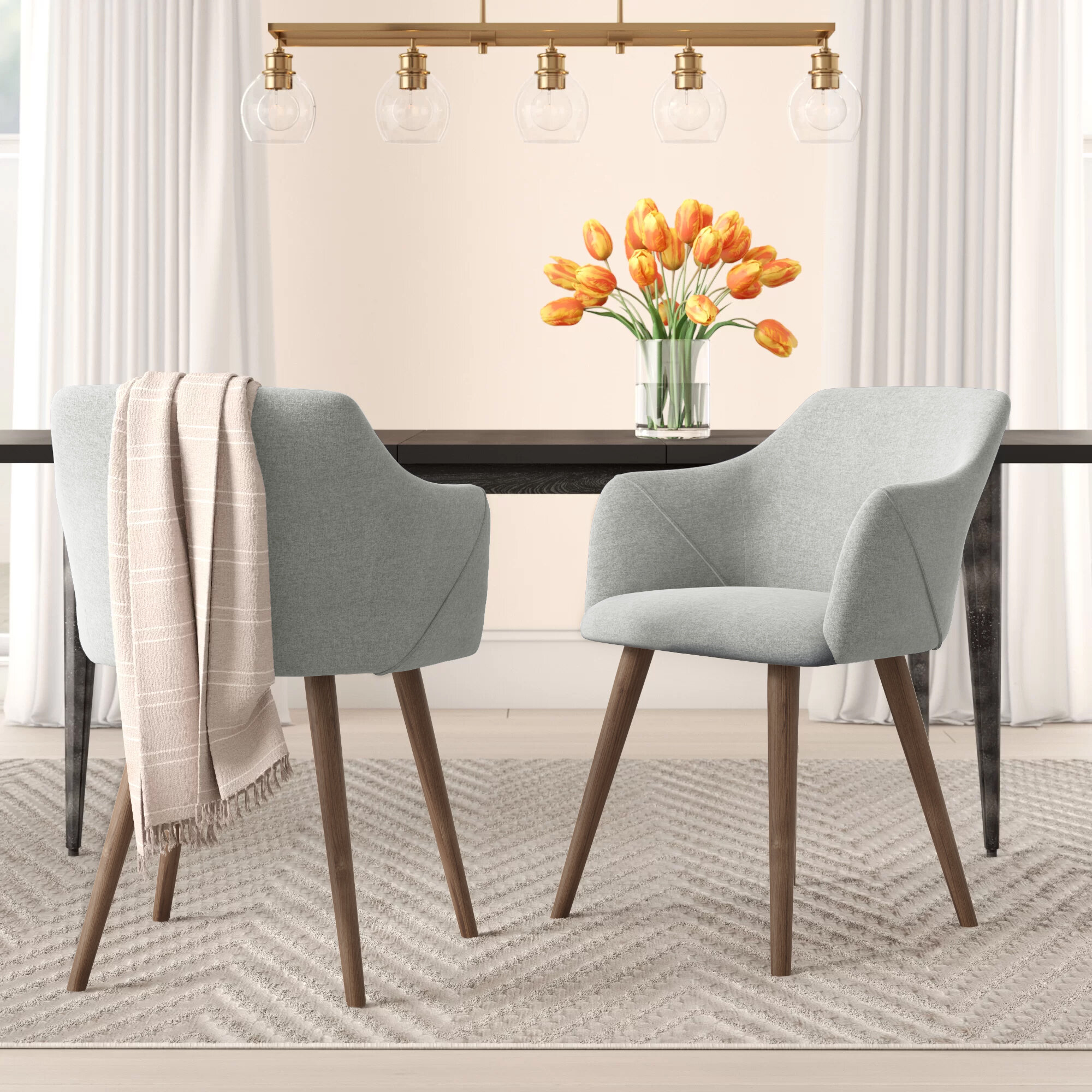 Lena Upholstered Dining Chair Reviews