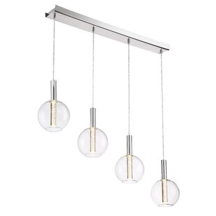 Sprouse 4-Light LED Pendan..