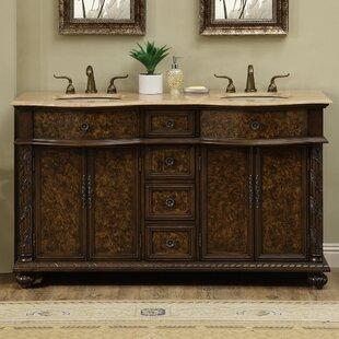 60 Double Modern Bathroom Vanity Set by dCOR design