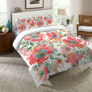 Kessinger Bohemian Poppies Comforter