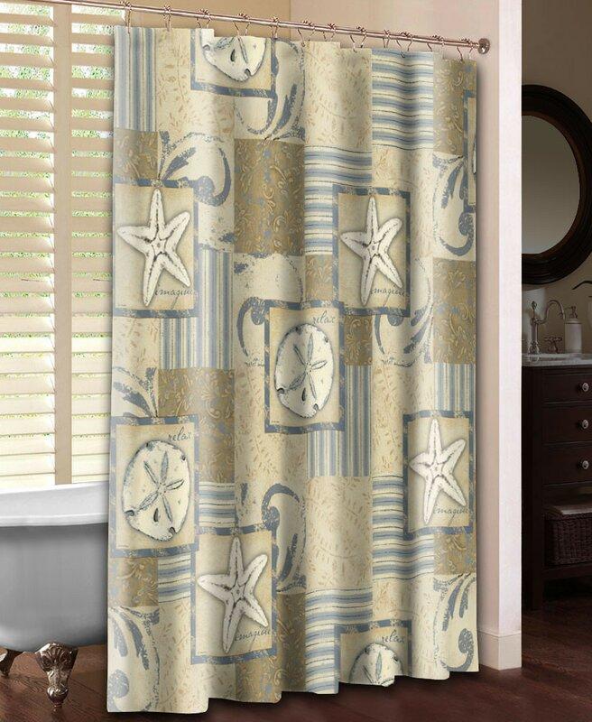 Coastal Shower Curtain from Wayfair!