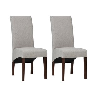 Avalon Deluxe Parson Upholstered Dining Chair (Set Of 2) By Simpli Home