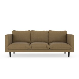 Superbe Brown Suede Sofa | Wayfair
