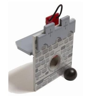 Online Reviews Edix the Medieval Village Cannon Ball Wall ByLe Toy Van