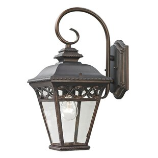 Order Creighton 1-Light Outdoor Wall Lantern By Three Posts