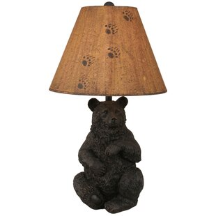 Coast Lamp Mfg. Rustic Living Sitting Bear Pot 28
