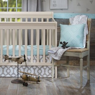Inexpensive Algona Mini 2 Piece Crib Bedding Set ByHarriet Bee